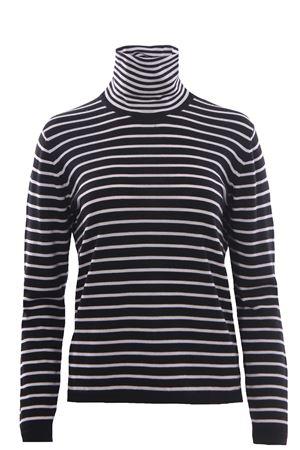 Collo alto in lana disegno riga ALPHA | -161048383 | AD4070G1021