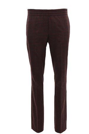 Pantaloni a sigaretta in flanella ALYSI | 5032272 | 150121A0040ANTRACITE