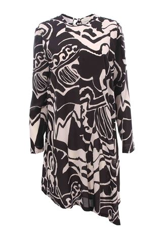 Silk dress ALYSI | 5032276 | 150342A0006NERO