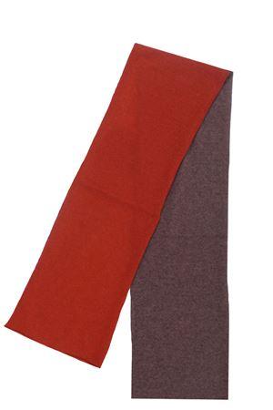Two-tone cashmere scarf BOYLE | 5032273 | 102BRUGGINE-LEGNO