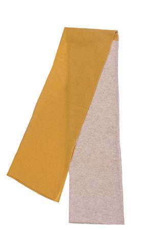 Two-tone cashmere scarf BOYLE | 5032273 | 102BSILVER-CEDRO