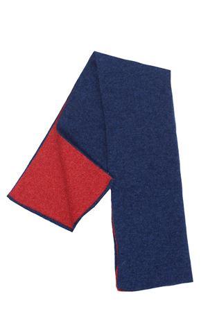 Two-tone cashmere gaiter BOYLE | 5032273 | 98BBLUM-MANDARINO