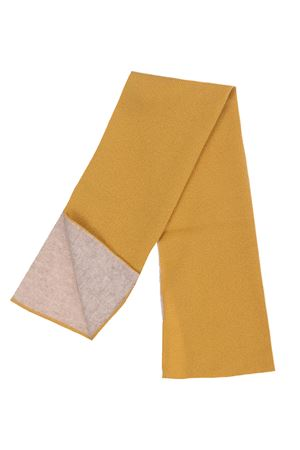 Two-tone cashmere gaiter BOYLE | 5032273 | 98BSILVER-CEDRO