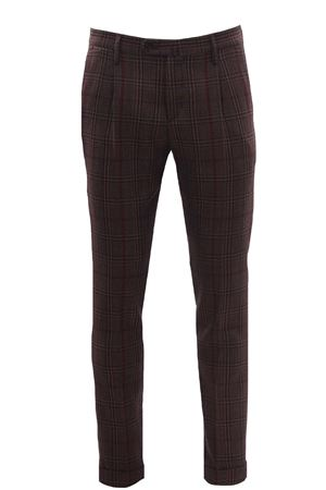 British check pants