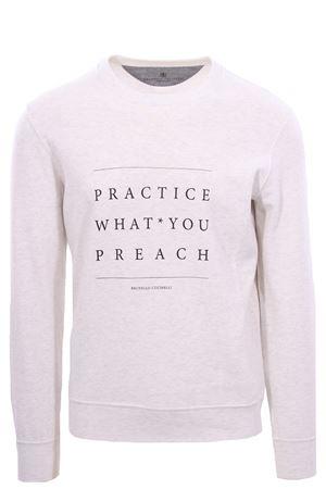 Sweatshirt with print BRUNELLO CUCINELLI | -161048383 | M0T353561CO665