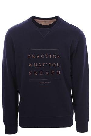 Sweatshirt with print BRUNELLO CUCINELLI | -161048383 | M0T353561CU609