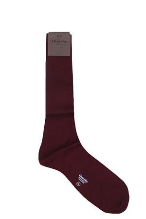 Long cotton lisle socks CHURCH