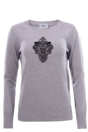 Crew neck with embroidery