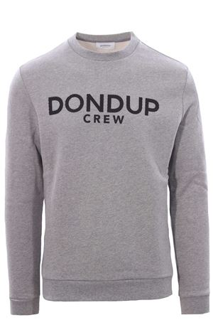 Sweatshirt with rubber logo