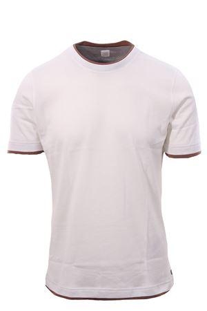 T-shirt effetto doppio capo ELEVENTY | 8 | B75TSHB05TSH2600101