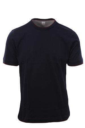 T-shirt effetto doppio capo ELEVENTY | 8 | B75TSHB05TSH2600111