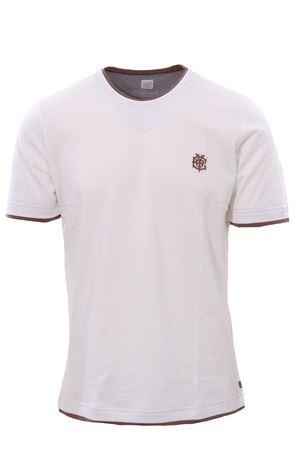 T-shirt effetto doppio capo con ricamo ELEVENTY | 8 | B75TSHB07TSH2600101