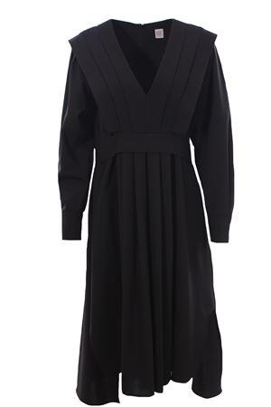 V-neck dress with belt ELEVENTY | 5032276 | B80ABIB10TES0B19322