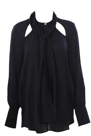 Silk shirt with scarf ELEVENTY | 5032279 | B80SETB02TSE0B00122