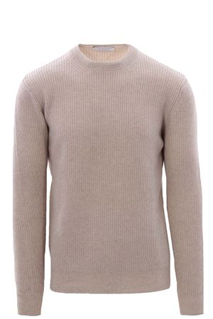 Girocollo punto pannocchia in lana e cashemere melange FILIPPO DE LAURENTIS | -161048383 | 23168101