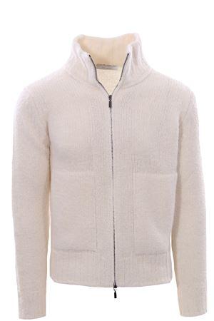 Full zip collo alto in lana e alpaca FILIPPO DE LAURENTIS | -161048383 | 28914001