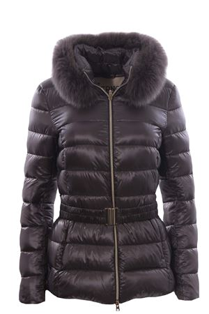 Down jacket Claudia with fur