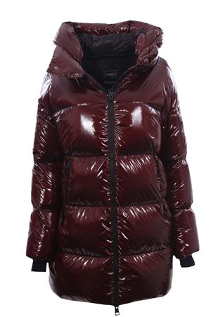 Laminar down jacket with hood