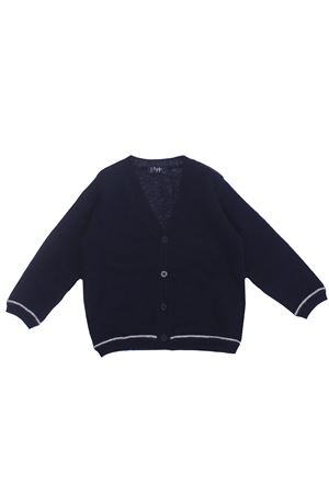 Cardigan in lana a trama rasata IL GUFO | -161048383 | GF351EM2204907