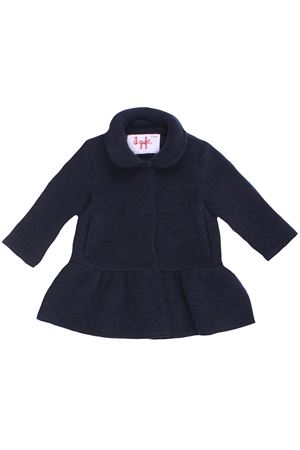 Cappotto in lana cotta con ruches IL GUFO | 5032278 | GP274N0041497