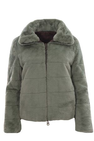 Reversible soft fur jacket MALIPARMI | 5032285 | JC01185013060011