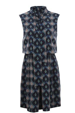 Sleeveless dress with scarf MALIPARMI   5032276   JF638060039C8023