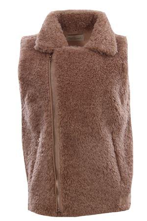 Sleeveless faux fur jacket MESDEMOISELLES | 5032285 | 20WDOLLYNATURAL