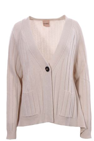 Cardigan with button