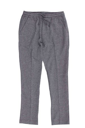 Houndstooth pants PAOLO PECORA | 5032272 | PP2486GRIGIO