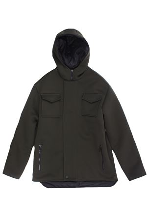 Outerwear with hood PAOLO PECORA | 5032282 | PP2529VERDE MILITARE