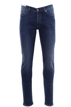 Jeans cinque tasche in denim doppiato PT | 24 | C5DJ05B10DESCA37ME02
