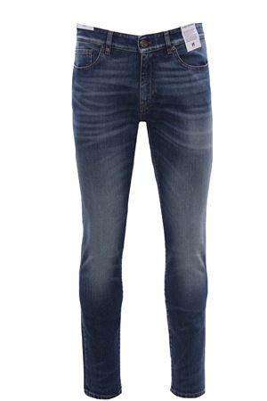 Jeans cinque tasche in denim stretch PT | 24 | C5KJ05Z30BASCA35MS71