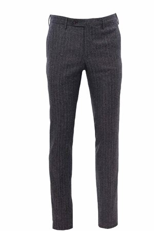 Pantalone in tweed spigato di lana e seta PT | 5032272 | CODF01Z00ANDZI45240