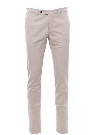 Pantalone in cotone stretch delavè PT | 5032272 | CPDL01Z00MO1TU45030