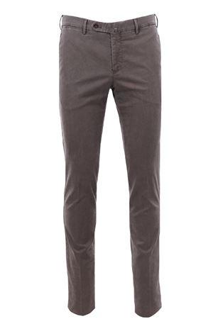 Pantalone in cotone stretch delavè PT | 5032272 | CPDL01Z00MO1TU45120