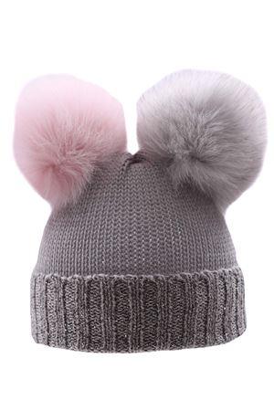 Hat with rhinestone REGINA | 5032304 | 20100ALLUMINIO