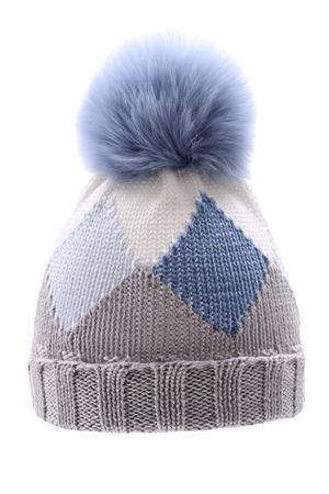Wool hat REGINA | 5032304 | 20435ALLUMINIO