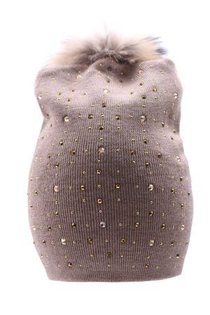 Hat with rhinestone REGINA | 5032304 | 20706NOCE