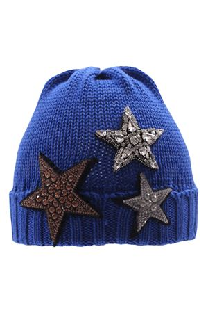 Wool hat with stars