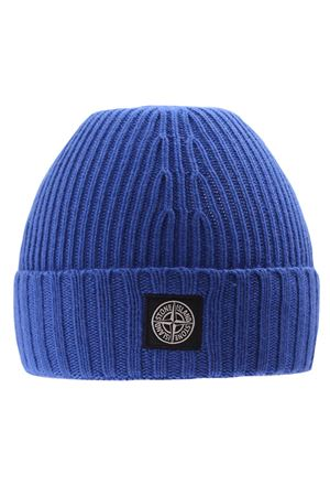 Ribbed cap with logo