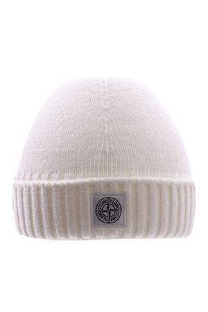 Ribbed cap with logo STONE ISLAND   5032304   7316N04A9V0099