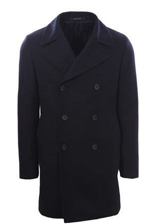 Lambswool and cashemere coat