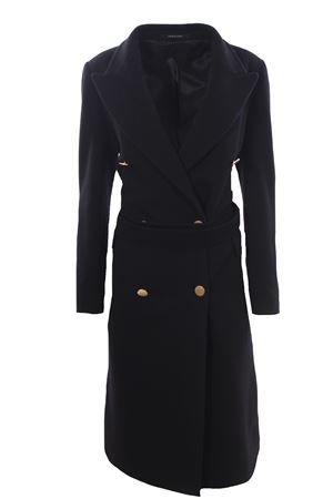 Wool and cashemere long coat