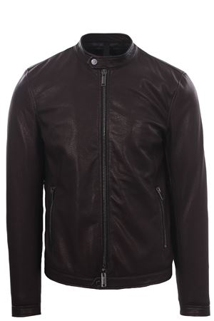 Leather biker