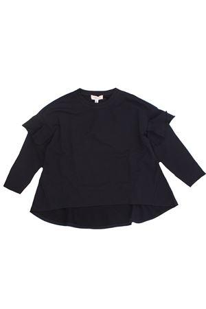 Sweatshirt with ruffles TWIN SET | -161048383 | 202GJ247100006