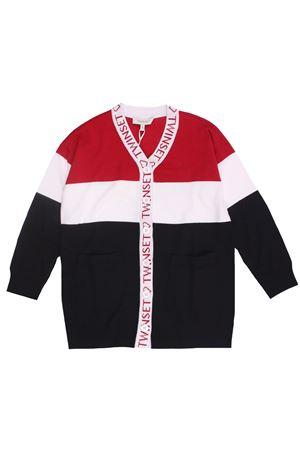 Long striped cardigan TWIN SET | -161048383 | 202GJ331405511