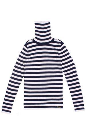 Striped high neck TWIN SET | -161048383 | 202GJ365A05669