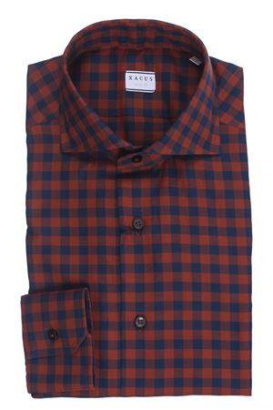 Camicia quadretto in flanella leggera  XACUS | 5032279 | 521ML71310004