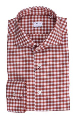 Camicia quadretto in flanella di cotone XACUS | 5032279 | 521ML71350002