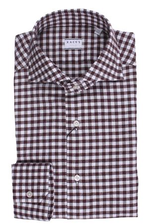 Camicia quadretto in flanella di cotone XACUS | 5032279 | 521ML71350003